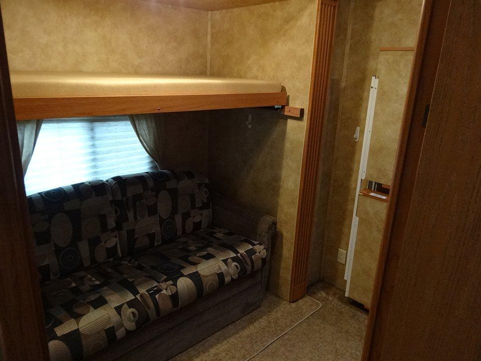 2009 Big Country 5th Wheel Interior View Rear Bedroom Entrance
