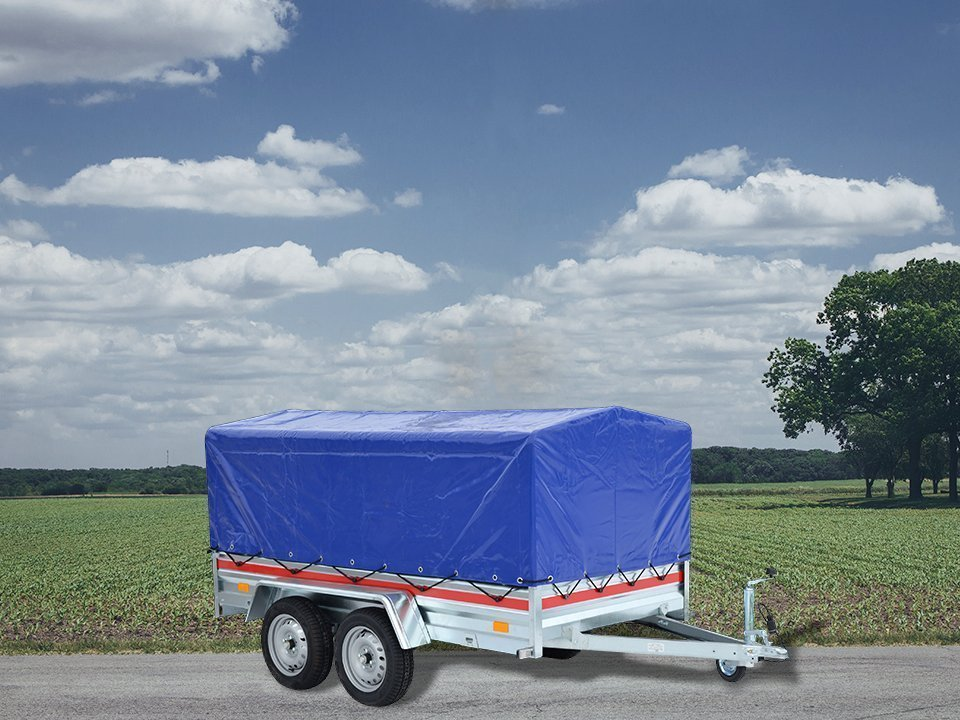 Cargo Utility Trailer covered