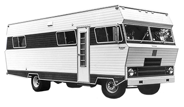 Old Foretravel camper full icon