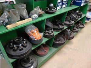 RV brake drums