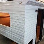 Custom Build RV Camper Exterior Panelling