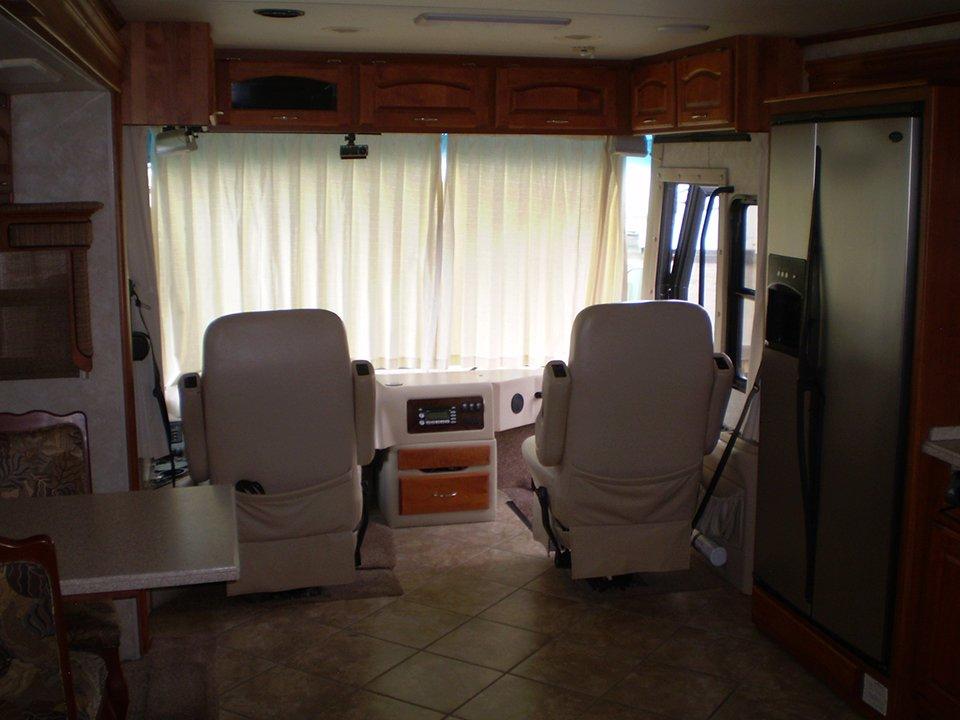 2007 Monaco Rambler-Interior Driver-Passenger Cockpit Area