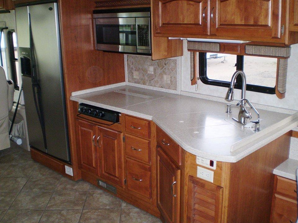 2007 Monaco Rambler-Interior Kitchen Area-2