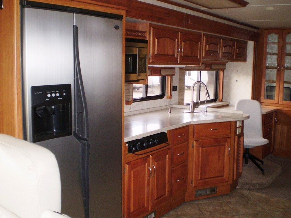 2007 Monaco Rambler-Interior Kitchen Area