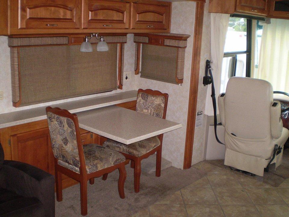 2007 Monaco Rambler-Interior Kitchen Eating Area