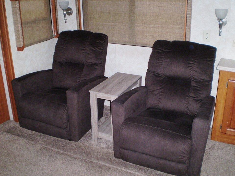 2007 Monaco Rambler-Interior Sofa Chairs