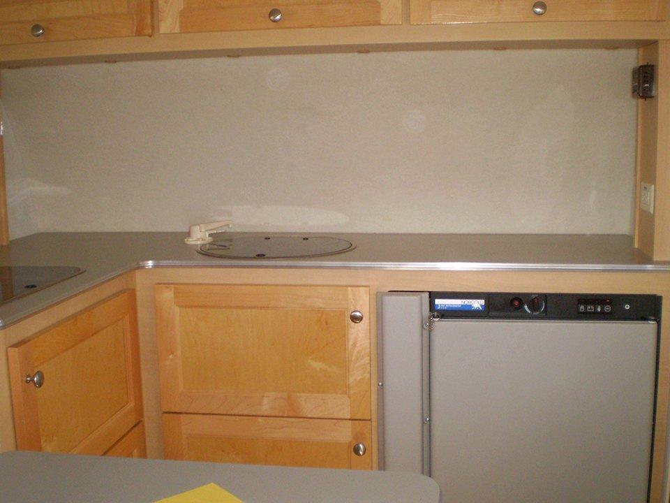 2008 Tab Trailer Kitchen Counter Area
