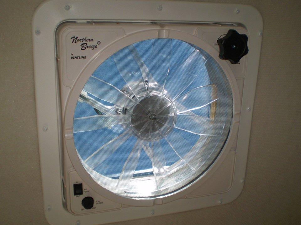 2008 Tab Trailer Ventilation Fan