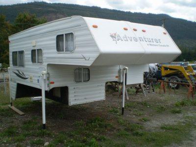 2003 Adventurer Camper – Model 100 WS