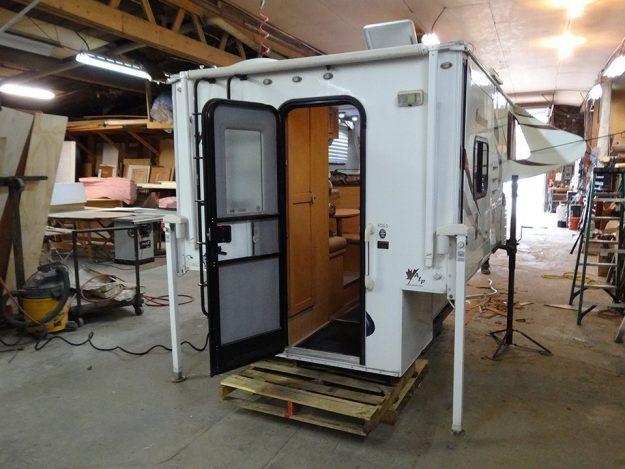 Kenkraft Custom Renovations slide-in camper